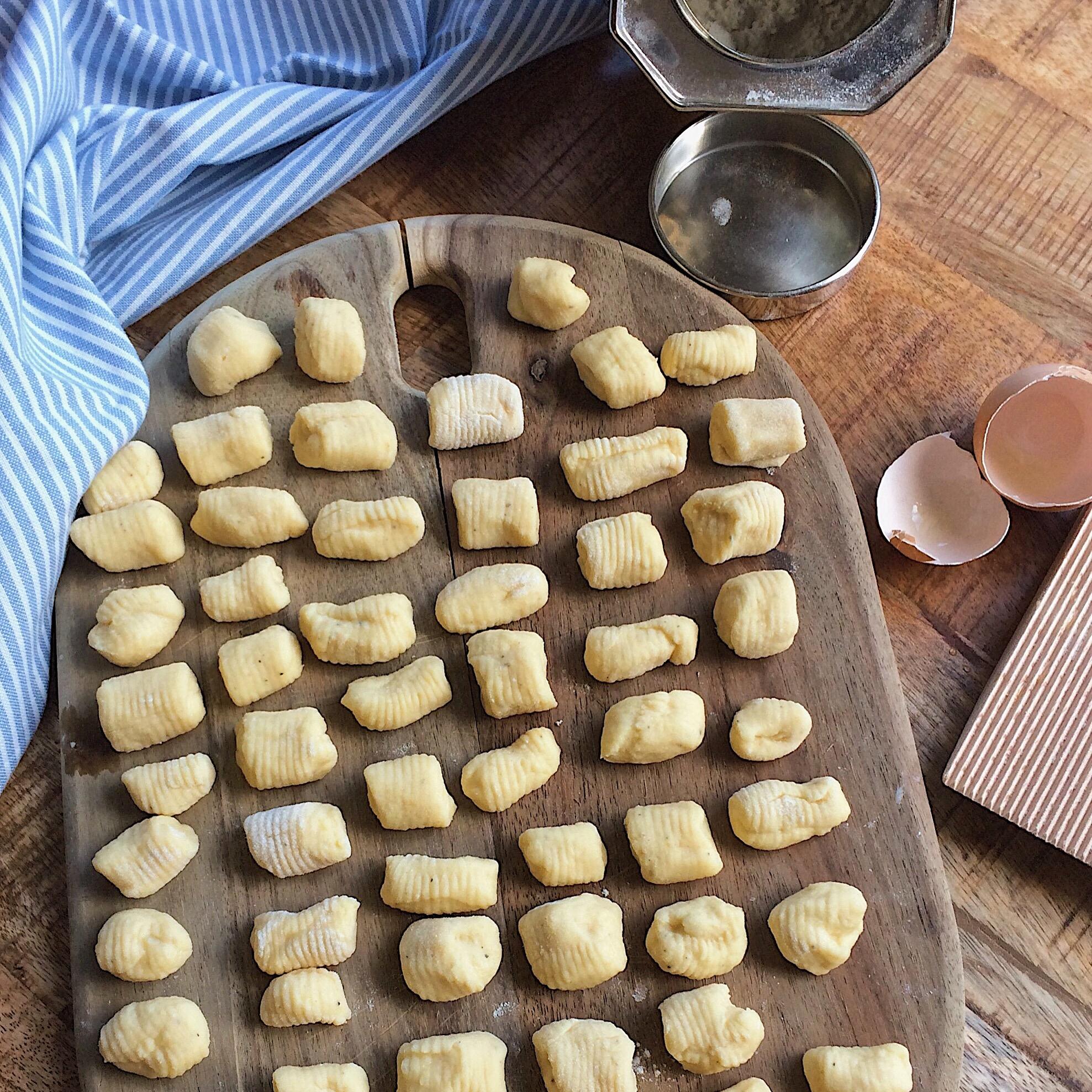 Zelfgemaakte Italiaanse Gnocchi