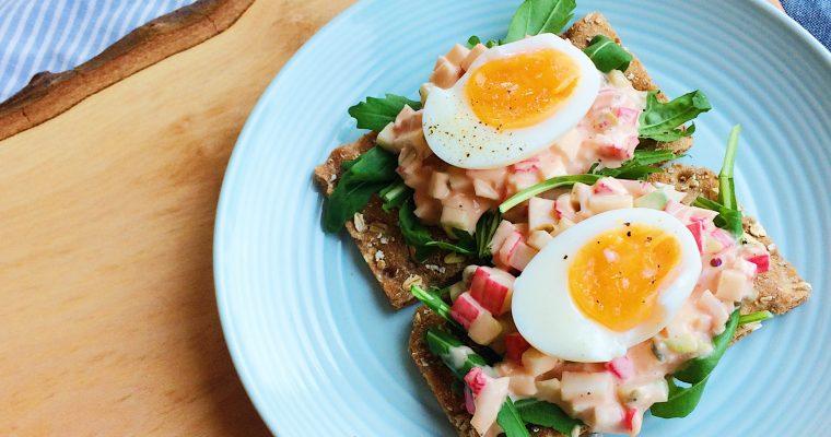 Zelfmaken: Krab/ Surimi salade!