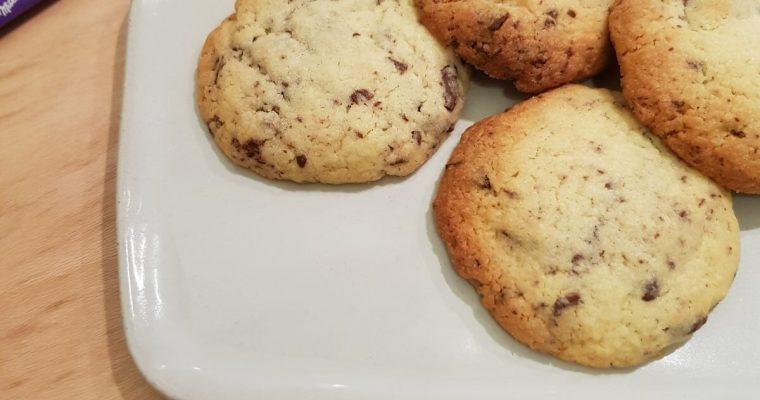 Milka Oreo Chocolate Chip Cookies