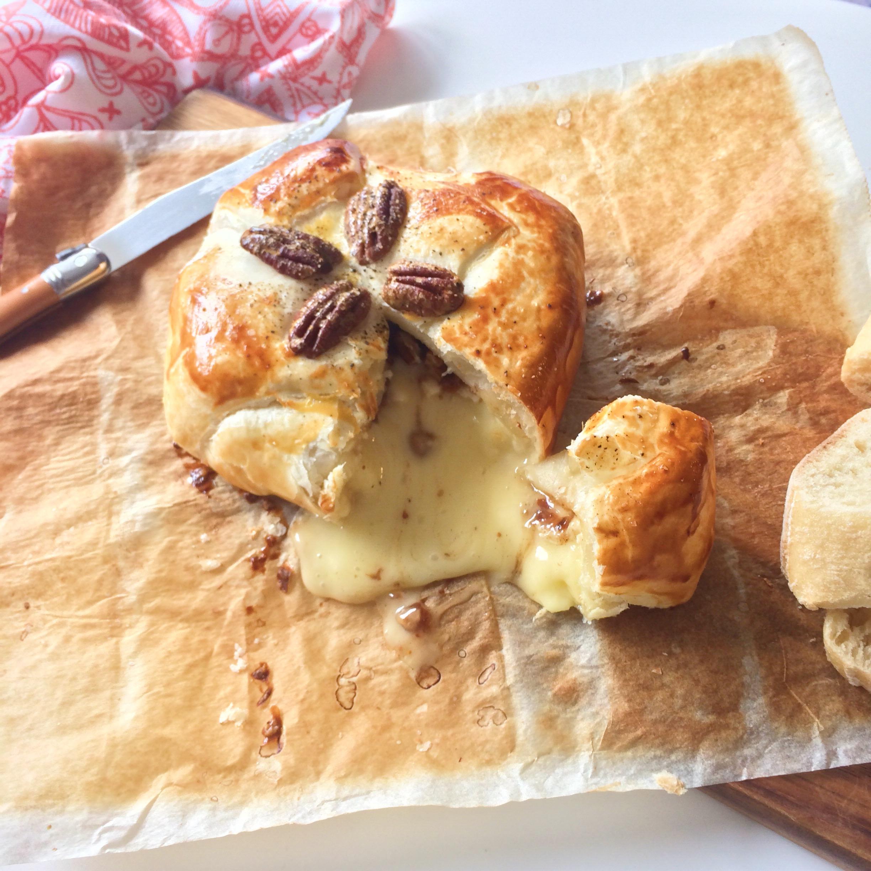 Camembert uit de oven met Tante Fanny deeg