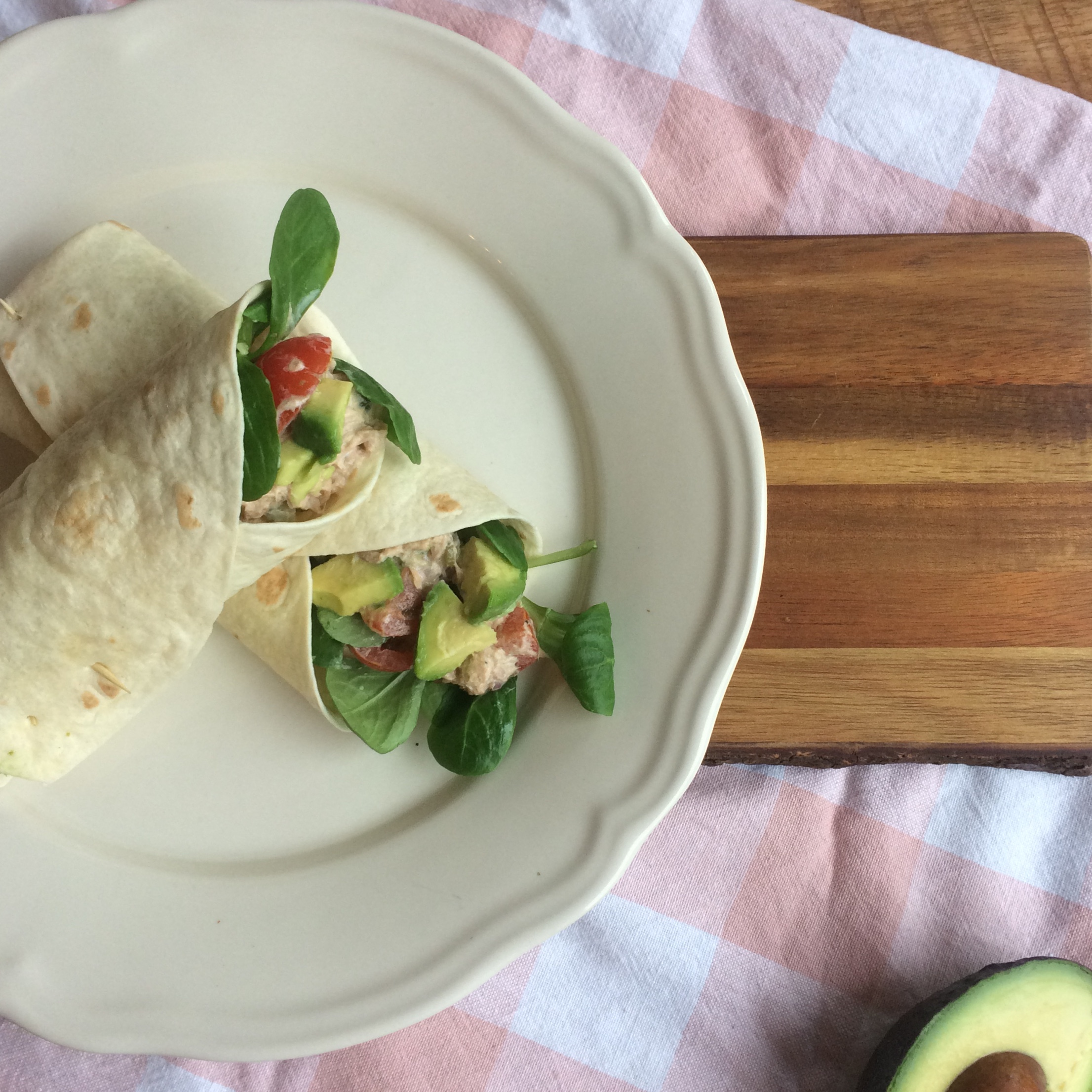Lunchidee: Wraps met tonijnsalade