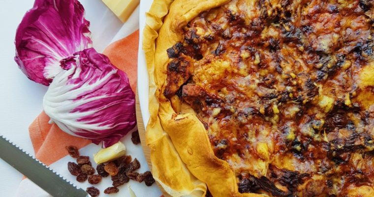 Torta Salata: Hartige taart met radicchio