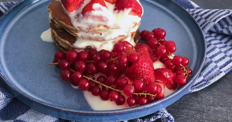Volkoren Banaan Pancakes