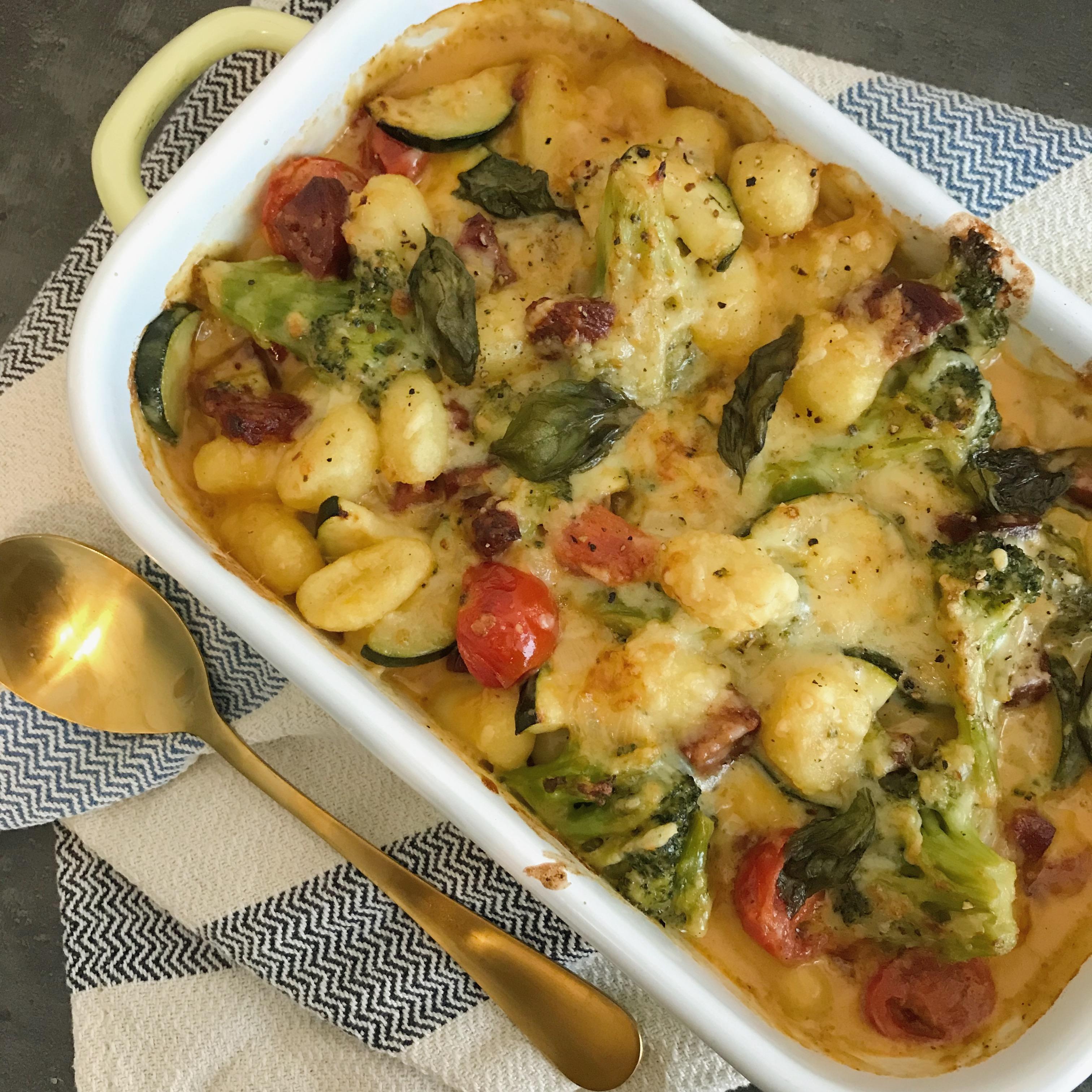 Chorizo – Gnocchi ovenschotel